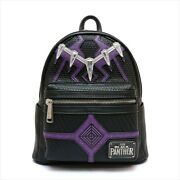 Loungefly Black Panther Mini Backpack Rucksack Marvel Movie Collabo New
