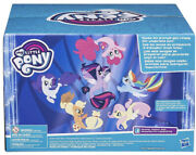 My Little Pony G4 Mermaid Seapony Collection 6 Pack Fantasy Scene New Sealed Box