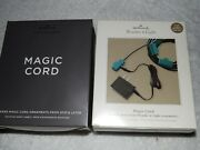 2-new Hallmark Magic Cords-72010 And Later-7wonder And Lights Ornaments