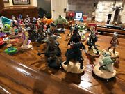 Disney Infinity Lot. 41 Characters , 6 Playsets, 34 Power Disc, Ps4 And Xbox