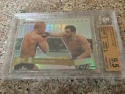 2009 Topps Ufc Round 1 Gold Top 10 Fights Georges St-pierre 30/88 Bgs 9.5 Rookie