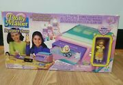Vintage Dolly Maker Boutique Oven And Goop W/ Doll - Creepy Crawlers 1996 Nib