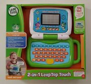 Leapfrog,2-in-1 Leaptop Touch,infant Toy Laptop Learning System Toy Playset New