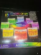 New Antworks Colors Of Life Space Age Habitat For Ants Ant Farm Color Changing