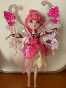 2 Pc Ever After High C.a. Cupid Heart Struck Doll / Monster High Bath Tub Duo