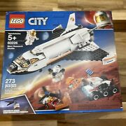 Lego City Space 60226 Mars Research Shuttle Nasa Inspired New + Free Shipping
