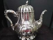 Vintage Antique Collection William Gale And Son Sterling Silver Teapot
