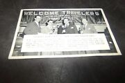 Vintage Tommy Bartlett Welcome Travelers Postcard Abc Ivory Snow College Inn