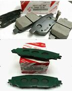 2009-2019 Toyota Corolla Genuine New Oem Front And Rear Brake Pads And Shims