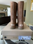 Ugg Classic Tall Ii 1016224 Chestnut Women Boots Size 6 Brand New With Box