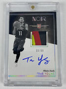 2018-19 Panini Noir Trae Young Rpa /99 Rookie Patch Auto Rc 🧀
