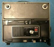Kodak Instamatic M68 Super 8 Movie Projector W/ Reel And Lid - Made In Usa