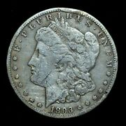 1893-cc 1 Morgan Silver Dollar ✪ Xf Extra Fine Details ✪ L@@k Now ◢trusted◣