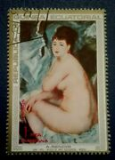 Guinea1973 Paintings By Pierre-auguste Renoir 1841-. Rare And Collectible Stamp.