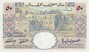 Lebanon Banque De Syrie And Liban 25 And 50 Livres 1939 P.17 And P.18 Reproduction