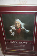 Frank Howell Indian Symphony Hand Signed Studio Show Poster And Arrow Display