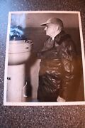Harry Truman Hand Signed Photo Aboard Uss Fdr Flagship In April 1946 With Coa