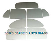 1939 Plymouth P8 2 Door Coupe Classic Auto Glass Vintage 2dr New Flat Windows