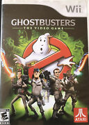 Ghostbusters The Video Game Nintendo Wii Cib - Tested
