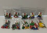 Lego Super Mario Series 2 Minifigures Set Of 10 Removed From Package Complete