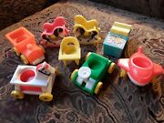 Vintage Fisher Price Little People Nursery Rocking Horses Riding Toys Chair More