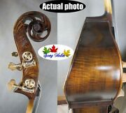 Hand-made Professional Song Master Flat Back Bass-upright 3/4 Doulbe Bass