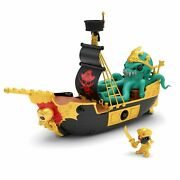 New In Box Treasure X Sunken Gold Treasure Ship Playset Childrenand039s Toy Playset