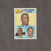 1965 Topps 537 Mercelino Lopez/rudy May/phil Roof Rookie Stars