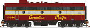 Rapido 223505 Gmd F7b Canadian Pacific Script Scheme 4433 Dcc And Sound