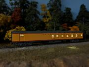 Custom Kato N Scale Up City Of Los Angeles Baggage Dormitory 6007 From 106-087