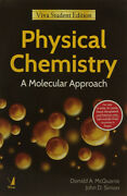 Brand Newphysical Chemistry A Molecular Approach By Mcquarrie 1st Intl Ed