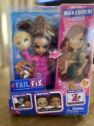 Failfix Take Over The Makeover Doll Loves.glam Surprise Fashion 2020 Toy Nib