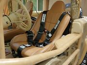 Shelby 5-point Harness Belt W/ Camlock And Latch-link Ford Bronco Mustang Raptor