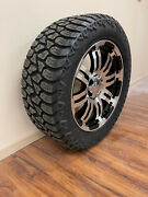 20x9 Vision Warrior Wheels Rims 32 Amp At Tires 6x135 Ford Expedition F150