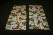 Vintage Nhra Promo Curtains Mint Appear Nos Condition. 32x45 Inches. Early 70and039s