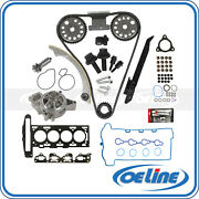 Fit 07-08 Chevy Cobalt Hhr Head Gasket Bolts Set Timing Chain Water Pump Kit