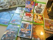 Lot Of 11 Xbox 360 Xbox Madden Woods Lord Star Dance Cabelas Witcher Pirates 007