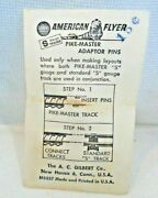 26342  Pikemaster And All Aboard To Standard S American Flyer Track 8 New In Bag