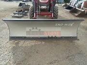 Sno-way 102 Snow Blade For Case-ih Tractors, Hydraulic Angle, Fits 75c And Others