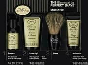 Art Of Shaving Unscented 4 Elements Of The Perfect Shaver Starter Kit Pack Of 50