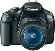 Canon Eos Rebel T3 Digital Slr Camera -18-55 Mm+battery Charger+32gb Sd Card+bag