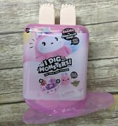 I Dig Monsters Purple Jumbo Popsicle W/exclusive Monji Toy Treates Pink
