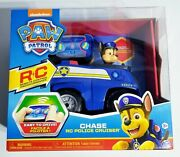 Paw Patrol Chase Rc Police Cruiser Nickelodeon Remote Pup Controller Toy Car New