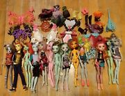 13 Loose Monster High Fashion Dolls W/accessories Clothes Shoes Wings Boys As Is