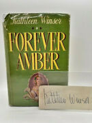 Signed First Edition Of Forever Amber By Kathleen Winsor 1944