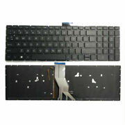 Us Keyboard Backlit For Hp 17-g099nr 17-g100nl 17-g101dx 17-g103dx 17-g103ng Ftu