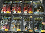 Mcfarlane Toys Spawn Series 1 Spawn 1 And Medieval Spawn Variants, Gold, Silver