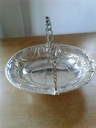 Good Quality Antique Solid Silver Cake Basket London 1775