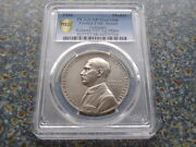 Germany Liberation Silver Medal 36 Mm Pcgs Sp Unc D. 1936 Europe On Bull K-517