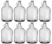 Glass Jug, 1 Gallon Pack Of 8 Fermentor / Carboy